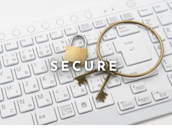 厳重な本人確認とセキュリティ